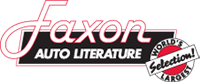 Faxon Auto Literature Logo