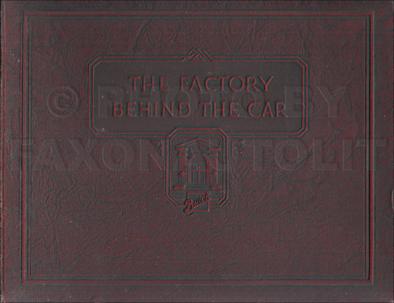 1924BuickFactoryHardcoverBook 1918 1924 buick repair shop manual reprint all models 2010 Buick Lacrosse Wiring-Diagram at mifinder.co