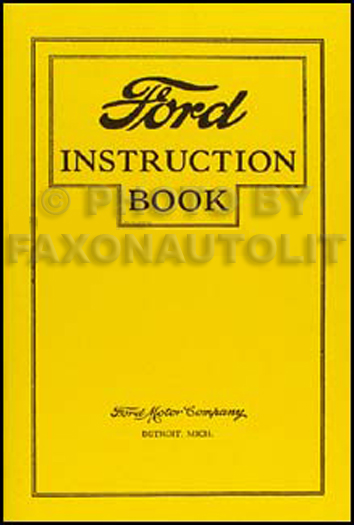 1926 27FordROM 1926 1927 ford model t wiring diagram manual reprint 1926 ford model t wiring diagram at soozxer.org