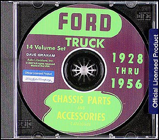 1928-1956 Ford Truck Parts Book on CD-ROM