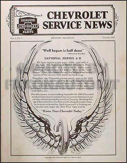 1926 1930 chevrolet body repair shop manual reprint
