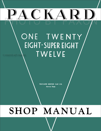 1932-1936 Packard Shop Manual Photocopy