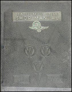 1932-1933 Cadillac and LaSalle Shop Manual Original