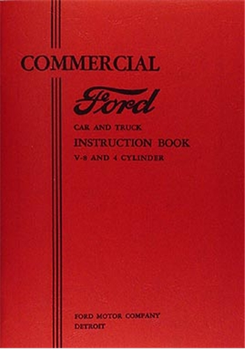Details about 1933 Ford Pickup Truck and Sedan Delivery Owners Manual ...