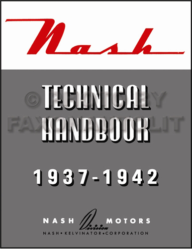 Awe Inspiring 1937 1942 Nash Specifications Wiring Diagrams Technical Handbook Reprint Wiring Cloud Hisonuggs Outletorg