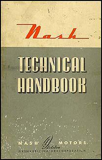 Surprising 1937 1942 Nash Specs Wiring Diagrams Technical Handbook Original Wiring Cloud Hisonuggs Outletorg