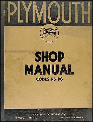 1938 plymouth repair shop manual original. Black Bedroom Furniture Sets. Home Design Ideas