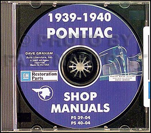 19391940 Pontiac Cd Repair Shop Manualrhfaxonautoliterature: 1939 Pontiac Wiring Diagrams At Cicentre.net