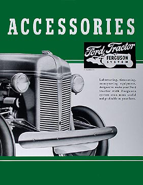 1939-1947 Ford 2N & 9N Tractor Reprint Accessory Brochure Set