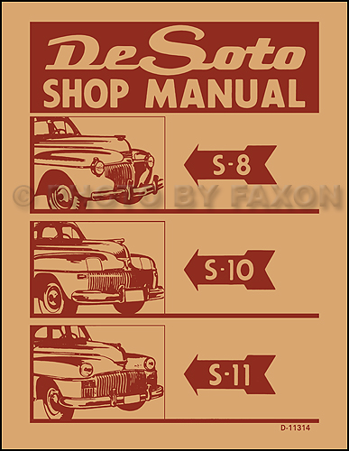 1941 48DeSotoRRM 1941 1948 desoto factory repair shop manual reprint 1941 desoto wiring diagram at reclaimingppi.co