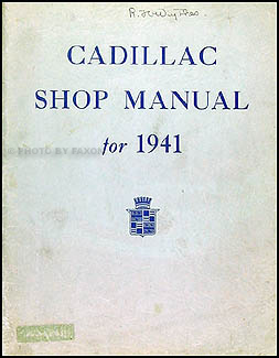 1941 cadillac repair shop manual original supplement all models rh faxonautoliterature com 1964 Cadillac Wiring-Diagram 1970 Cadillac Wiring-Diagram