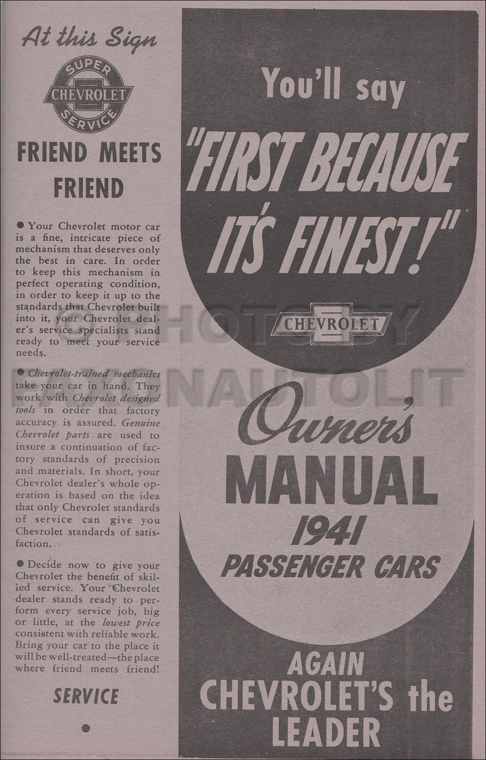 Image is loading 1941-Chevy-Car-Owners-Manual-Fleetline-Deluxe-Sedan-