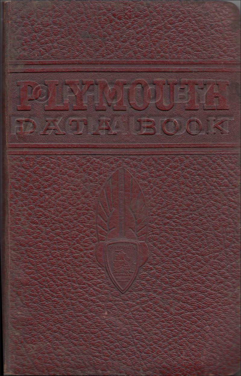 plymouth repair shop manual original 1941 plymouth data book original 199 00