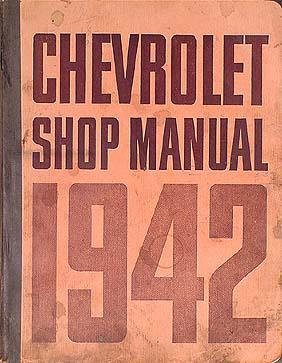 1942 1948 chevrolet car and 42 46 truck wiring diagram manual reprint 1942 only chevrolet car pickup truck repair shop manual original