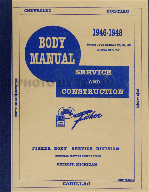 1947 Chevrolet Fleetline Shop Manual
