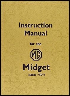 1946-1949 mg midget tc instruction manual reprint, Wiring diagram