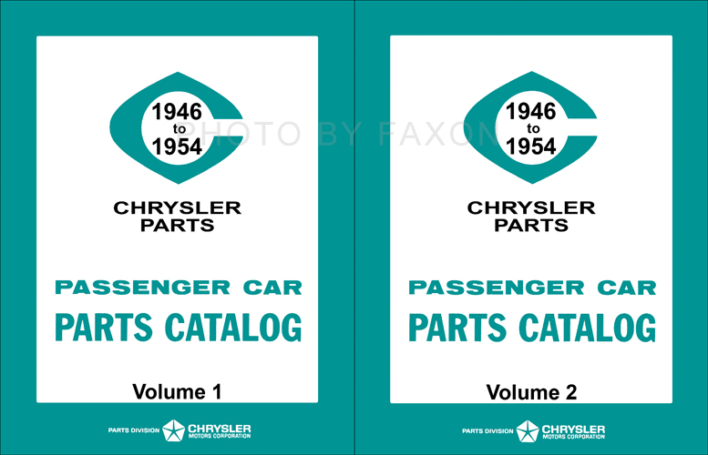 1946-1954 MoPar Parts Book Reprint