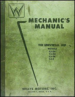 1946 1955 willys jeep cj repair shop manual original cj 2a cj 3a cj rh faxonautoliterature com willys jeep mb manual willys jeep manual free