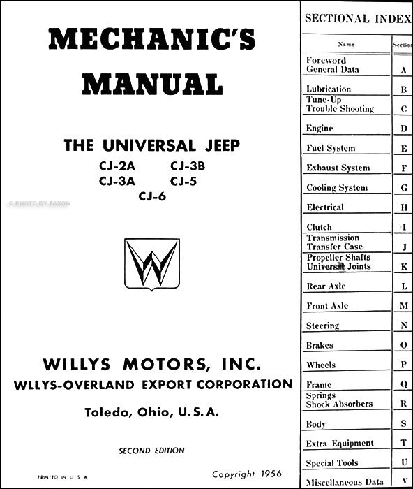 1942 willys jeep wiring diagram  1942  free engine image