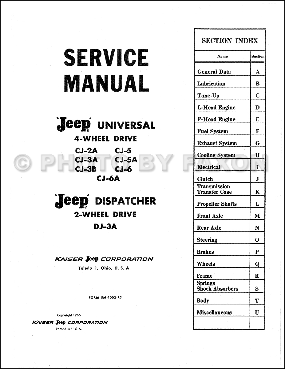 Jeep Cj2a Dash Wiring Diagram - Wiring Diagrams List Jeep Cj A Electrical Wiring Diagram on