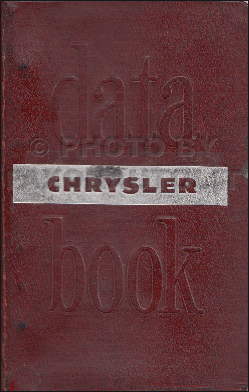 Chrysler Repair Shop Manual Reprint All Models - 1948 chrysler windsor wiring diagram