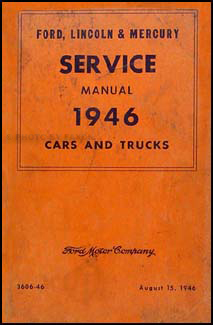 1941 1948 ford lincoln and mercury hardbound service bulletins related items
