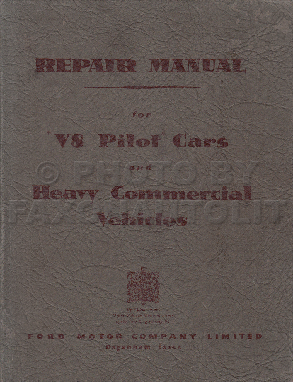 1947 Ford Wireing Manual