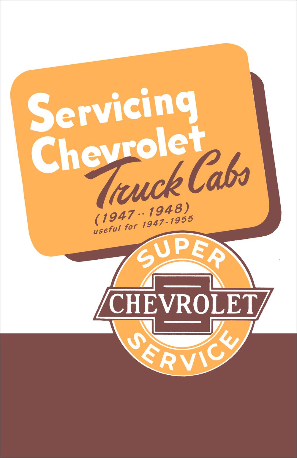 1954 chevrolet pickup truck repair shop manual original. Black Bedroom Furniture Sets. Home Design Ideas