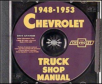 1953 chevy truck repair manual