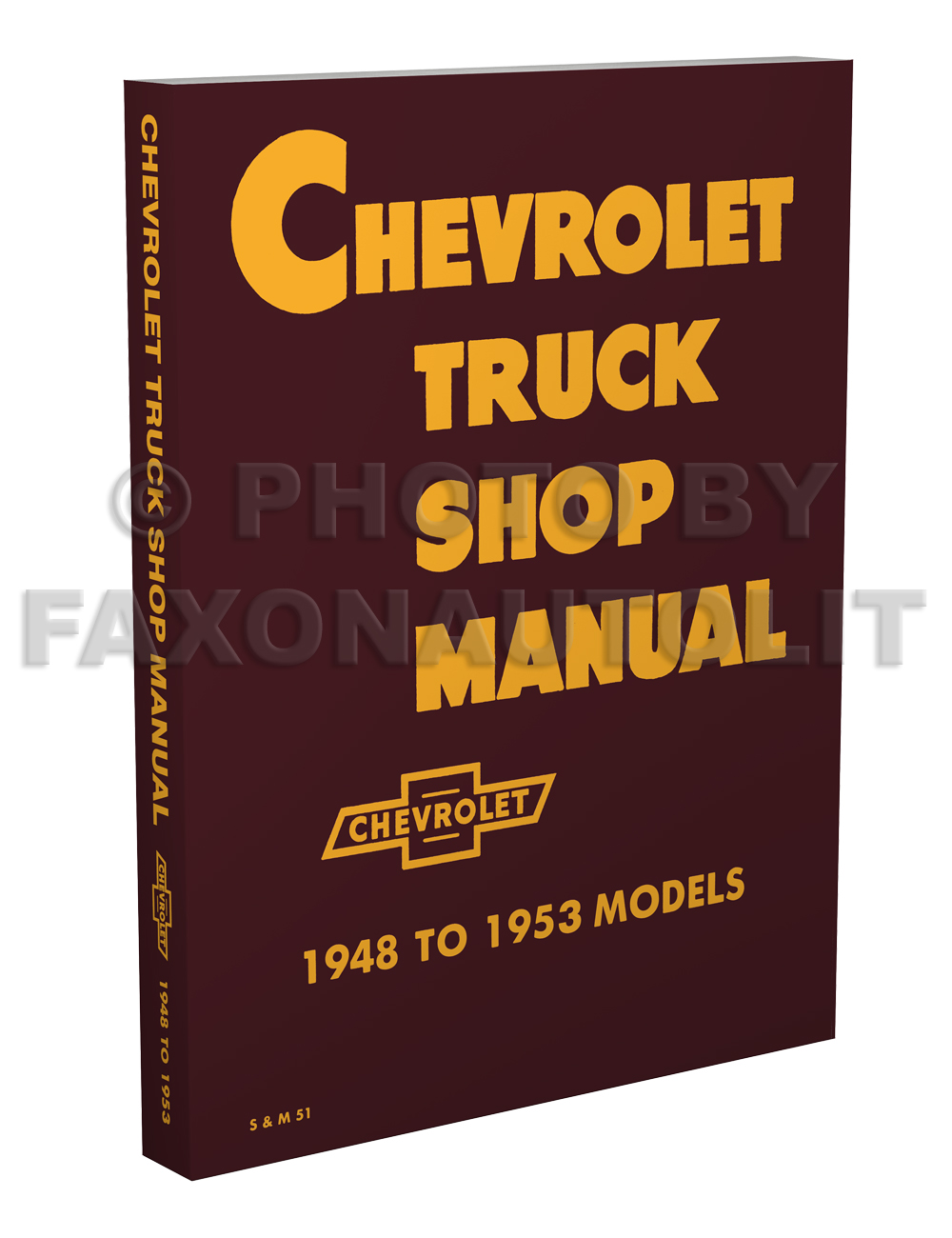 Image is loading 1948-1953-Chevrolet-Truck-Shop-Manual-Chevy-Pickup-