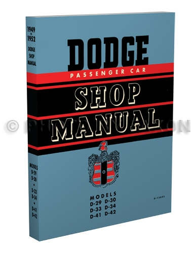 1949 1952 dodge car repair shop manual reprint 1949 1952 dodge car shop manual reprint publicscrutiny Gallery