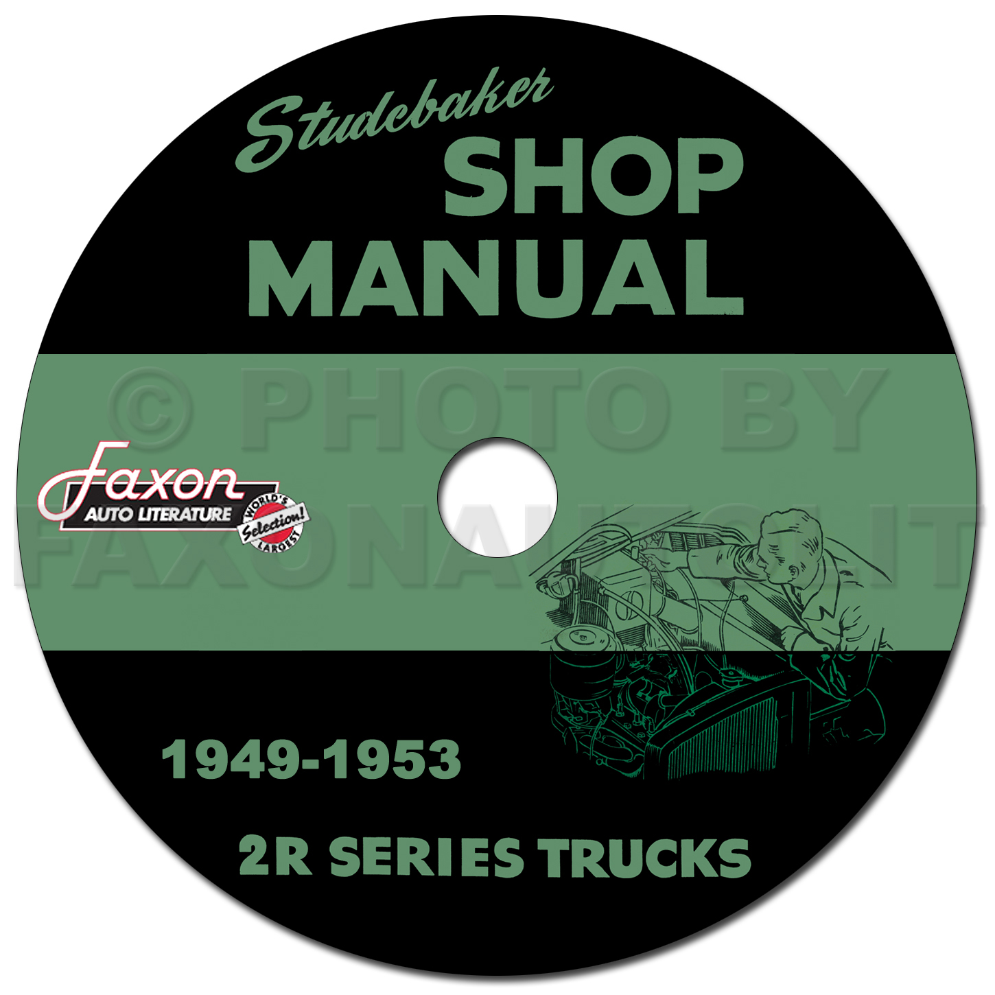 1949 1953 studebaker 2r series pickup truck shop manual reprint