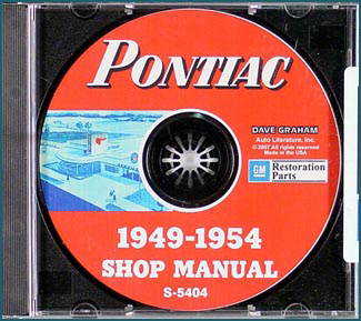 1949-1954 Pontiac CD-ROM Shop Manual