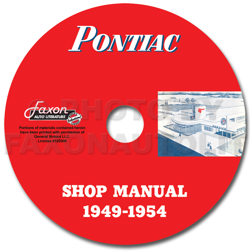 Image is loading Pontiac-Shop-Manual-CD-1954-1953-1952-1951-