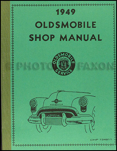 1949 Oldsmobile Repair Manual Original