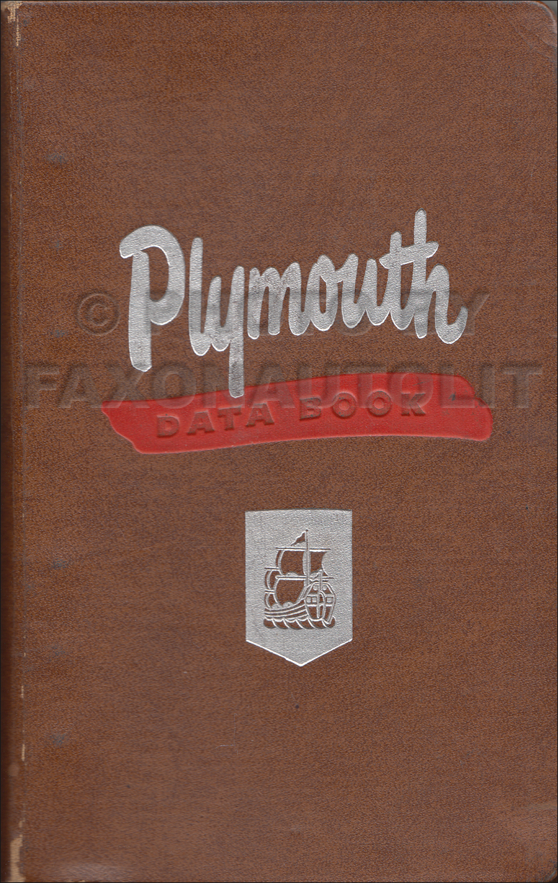 1946 1951 plymouth repair shop manual original rh faxonautoliterature com 1951 Plymouth 1951 Plymouth