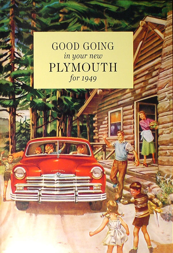 1949 Plymouth Reprint Owner's Manual