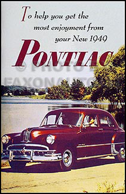 1949PontiacROM 1949 1954 pontiac repair shop manual original all models 1929 Pontiac Sedan Model at gsmportal.co