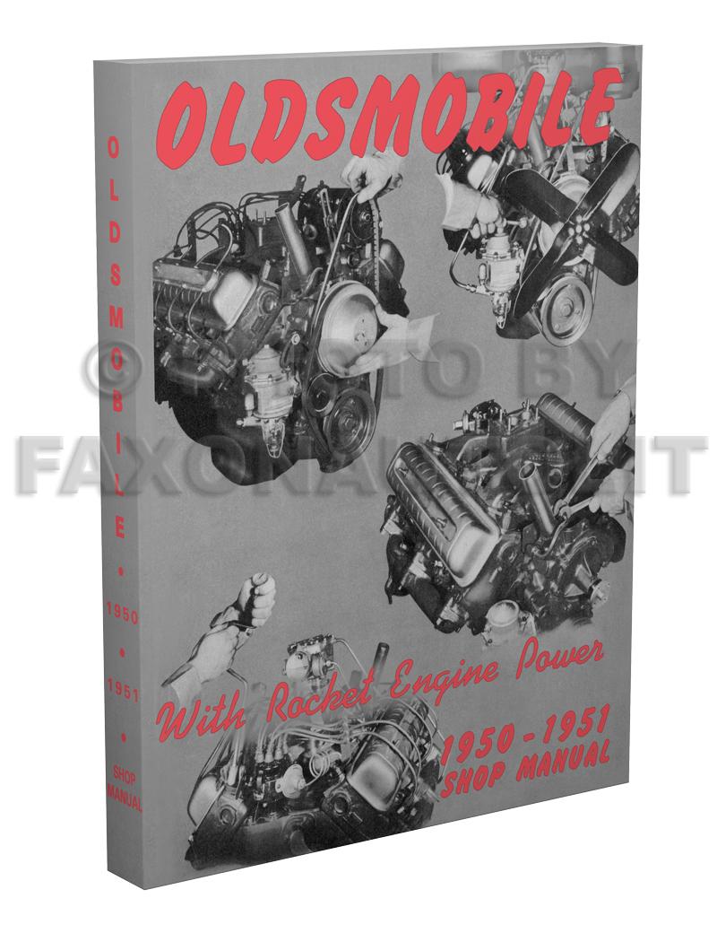 51 Oldsmobile Wiring Diagram Just Schematic 1951 Cadillac 1950 Repair Shop Manual Reprint 1998 Cutlass Engine