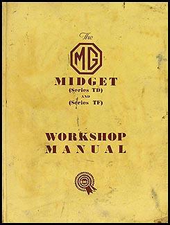 Mg midget owners manual