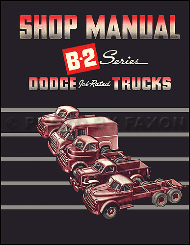 1950 dodge b 2 pickup truck owners manual reprint related products publicscrutiny Gallery