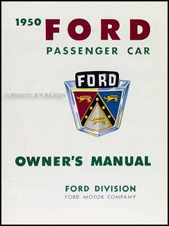 1949 1951 ford car wiring diagram manual reprint