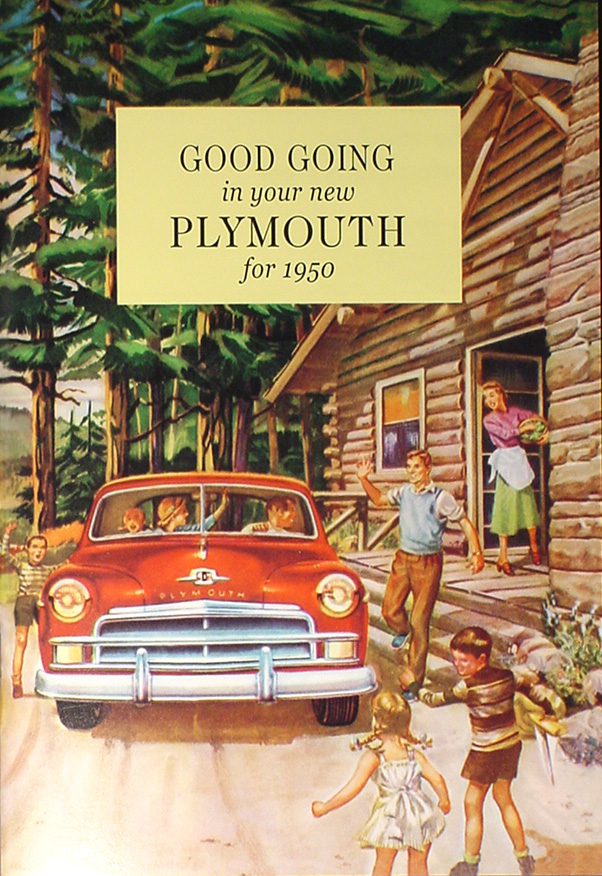 1946 1951 plymouth repair shop manual original 1950 plymouth reprint owner s manual