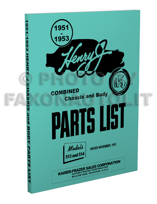 1951 53HenryJRPBp3D 1951 1953 kaiser frazer henry j repair shop manual original henry j wiring diagram at crackthecode.co