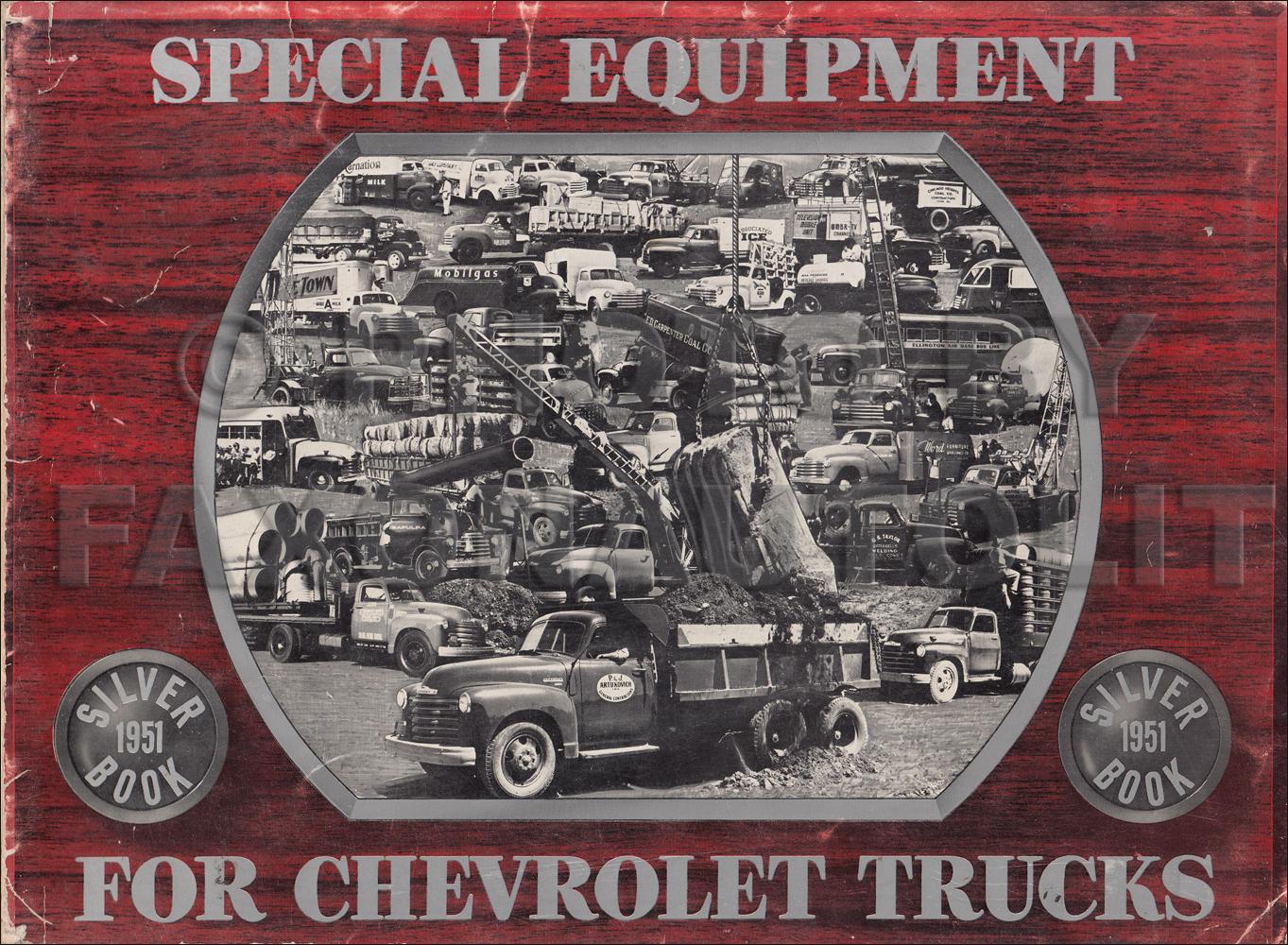 1951 Chevrolet Pickup  U0026 Truck Reprint Owner U0026 39 S Manual