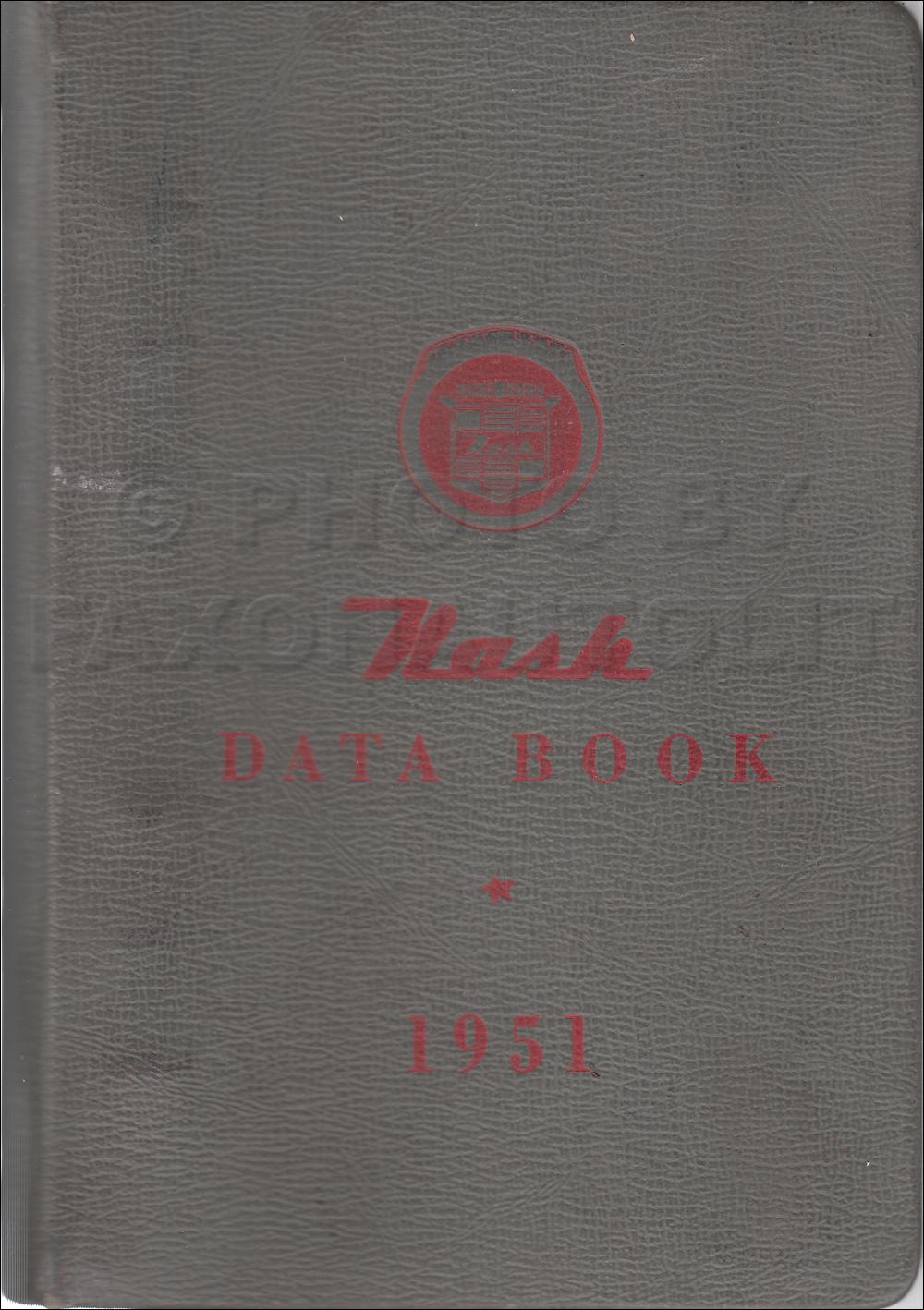 1951 Nash Hydra Matic Transmission Repair Shop Manual Original Supp Wiring Diagram For 1950 Data Book 22900