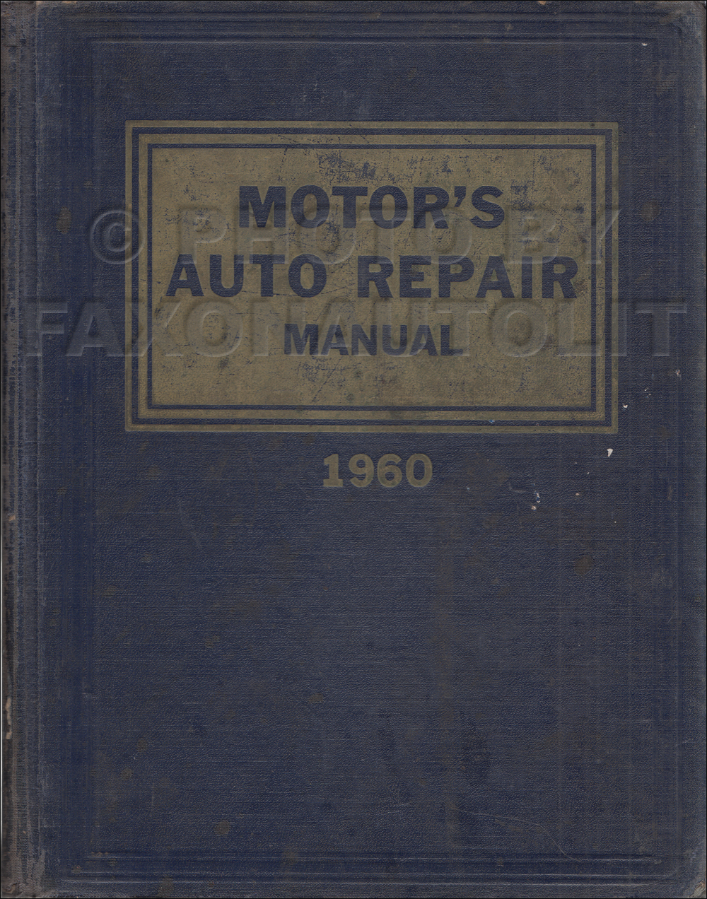 1953-1960 Motor's Car Shop Manual 23rd Edition