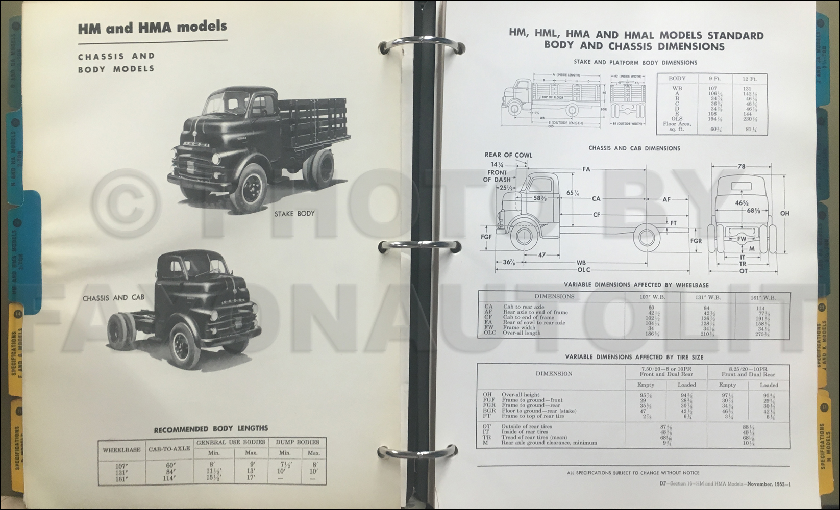 1948 1953 Dodge Pickup And Truck Parts Book Original B1 B2