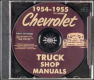 1962 chevy wiring diagram manual reprint impala ss bel air biscayne 1954 & 1955 1st series chevrolet truck wiring diagram ... #2