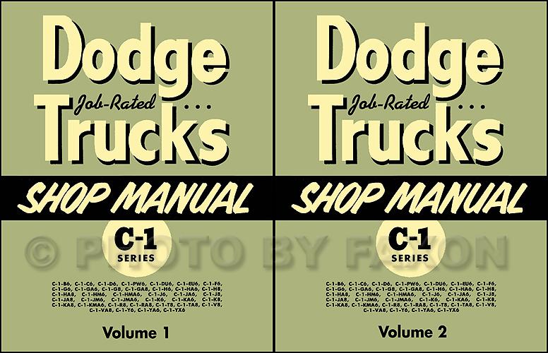 1954-55DodgeTruckRRMSet  Dodge Pickup Wiring Diagram on series wiring diagram, mopar starter relay wiring diagram, 1954 dodge pickup power, 1969 plymouth alternator wiring diagram, ford tractor wiring diagram, ford generator wiring diagram,